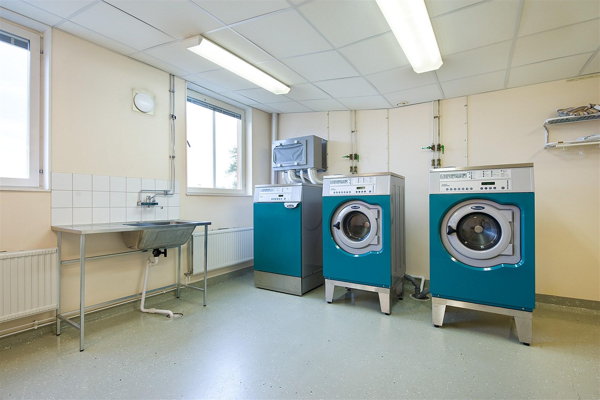 Gemensamma tvättstugan