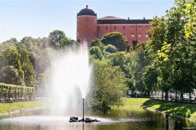 Uppsala slott och Svandammen
