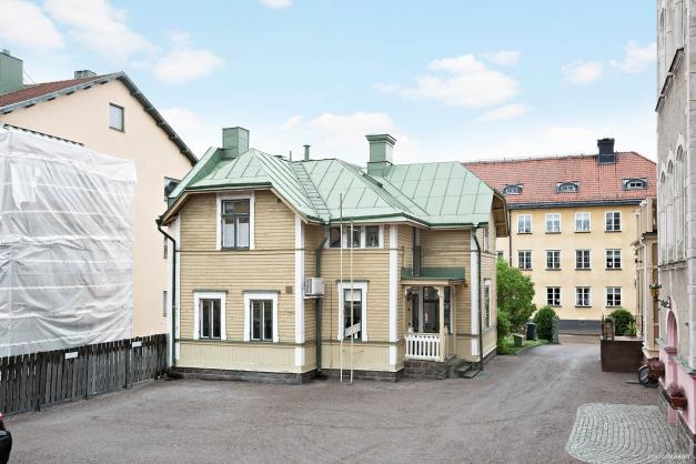 Huset - vy från innergården