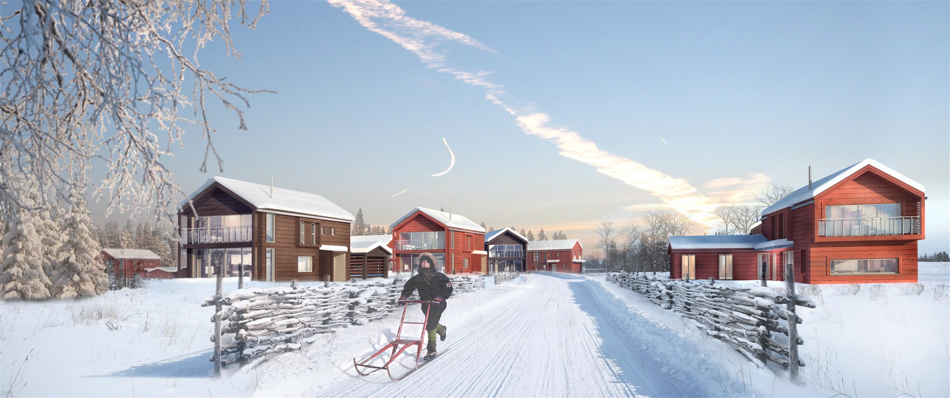 Illustrationsbild området Rödön