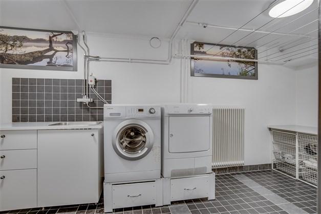 Tvättavdelningen