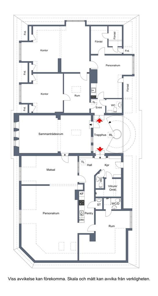 Hela våningsplanet 300 m²