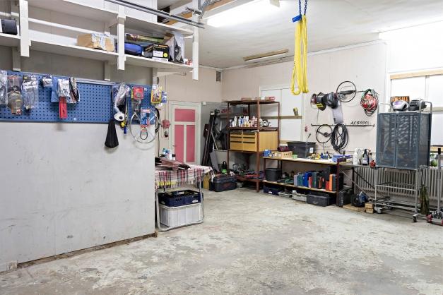 Garaget i vinkel