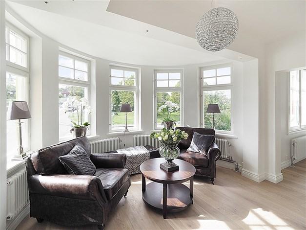Bild från annan lägenhet i huset