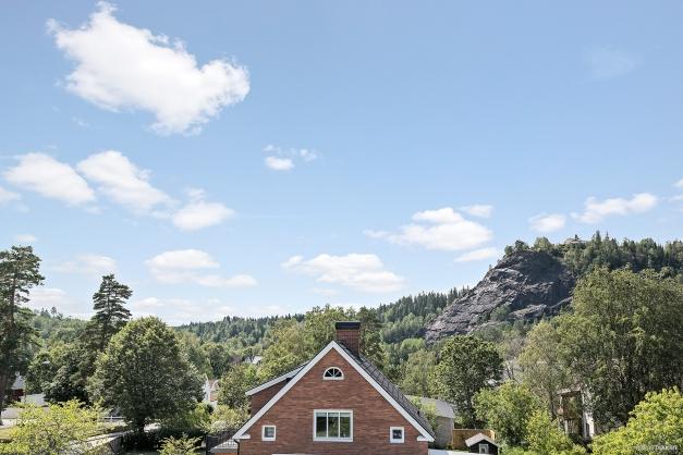 Vacker utsikt över Tabergs topp.