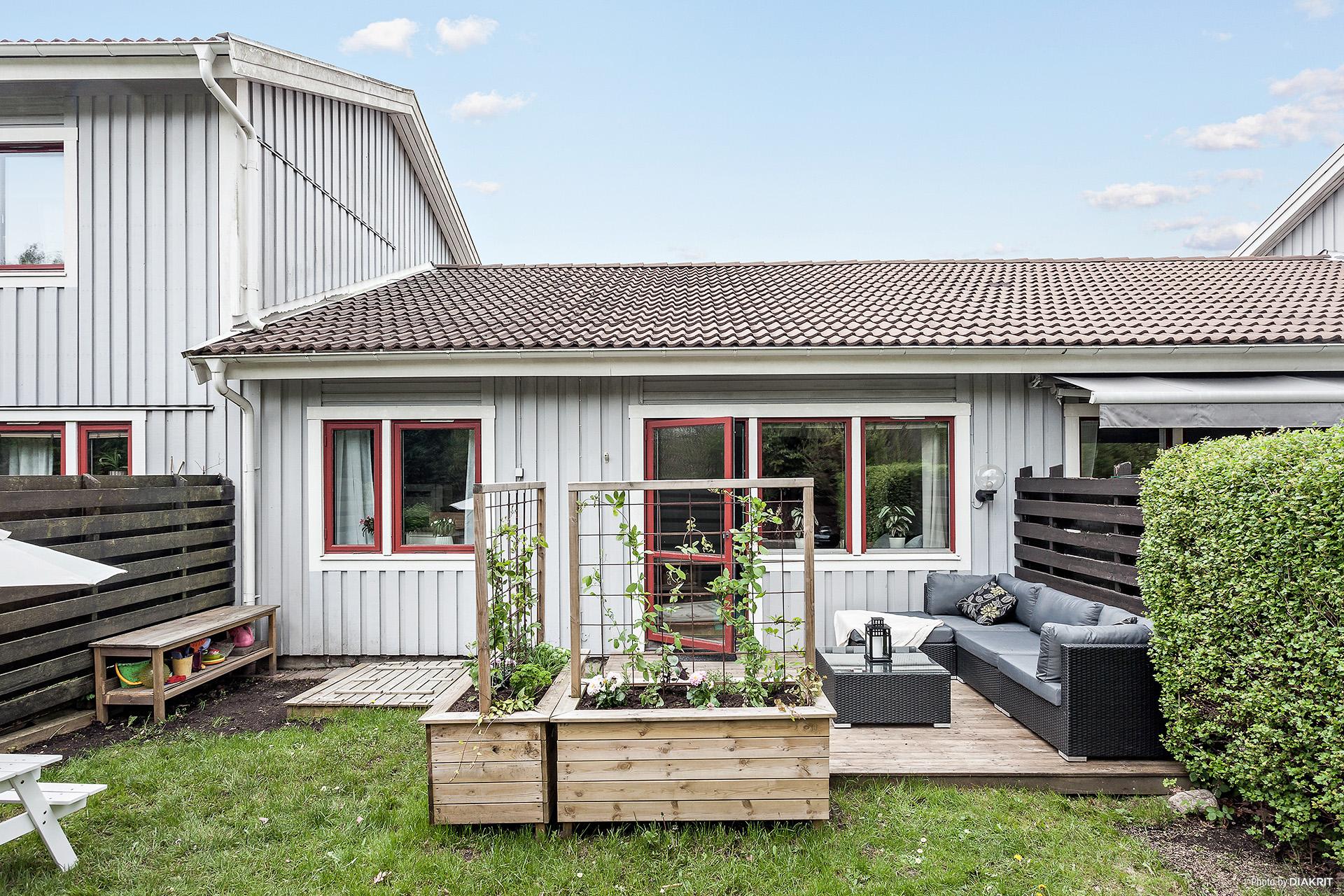 Trädgård och altan