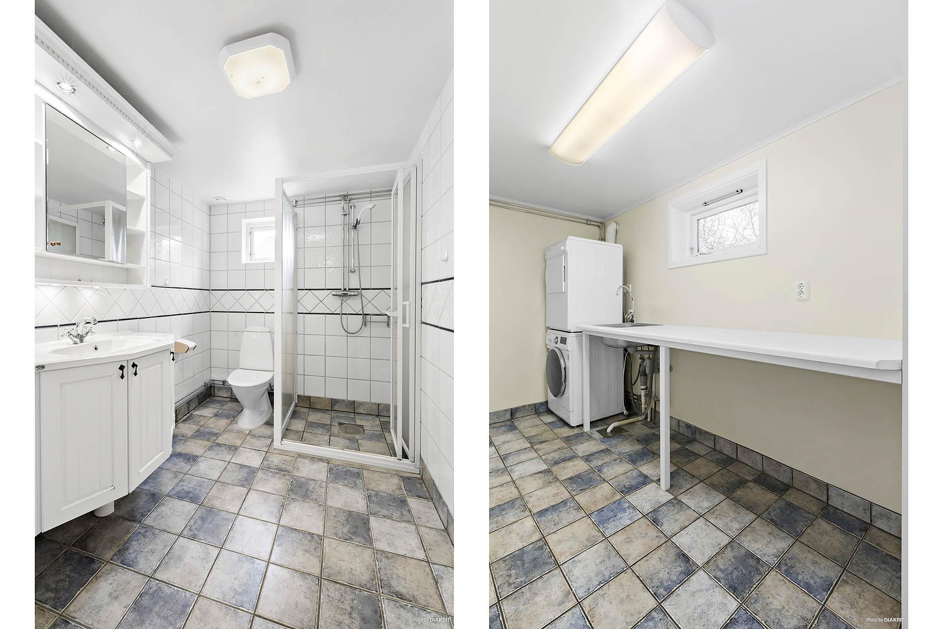 Duschrum/tvättrum