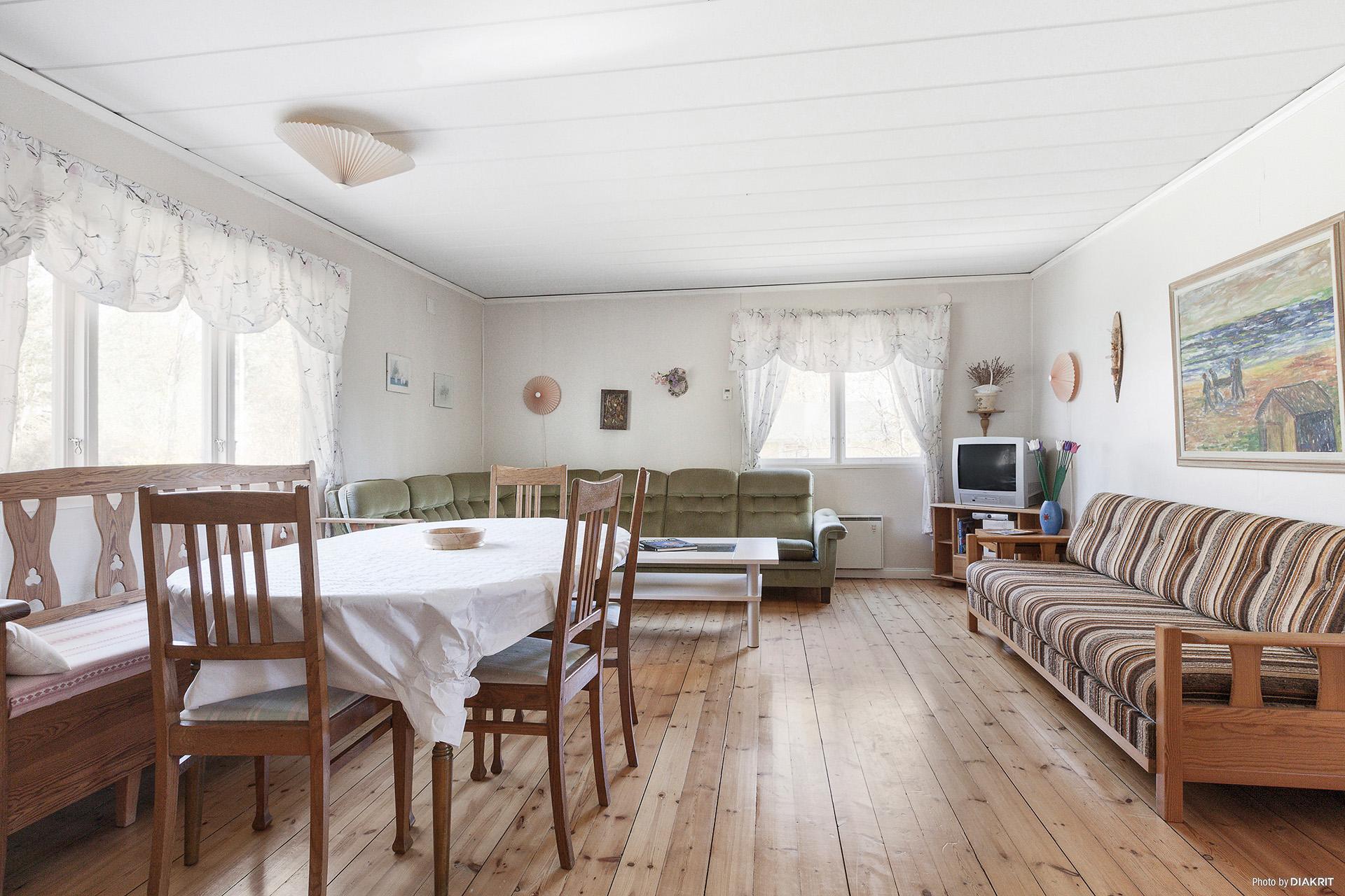 Stugans vardagsrum