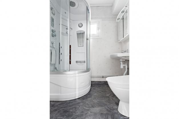 WC/dusch i hall