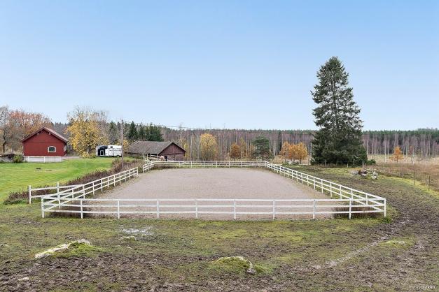 Uteridbana / paddock om ca 20 x 40 meter