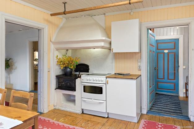 Flygeln: Lilla bostadshuset Kök