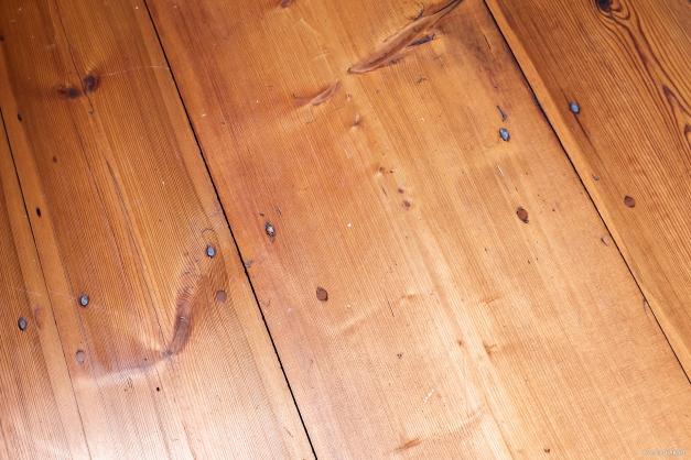 Vackra golv i hela bostaden