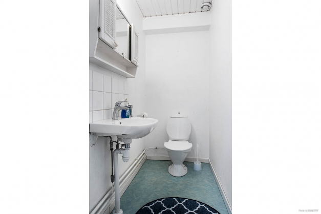 WC-rum på entréplan.