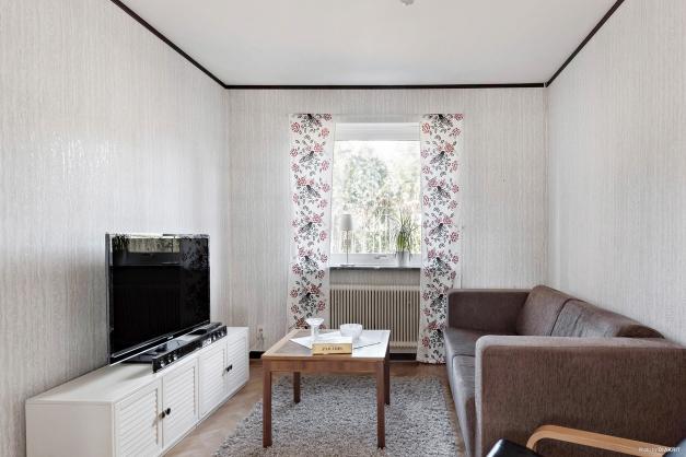 Matrum eller tv-rum.