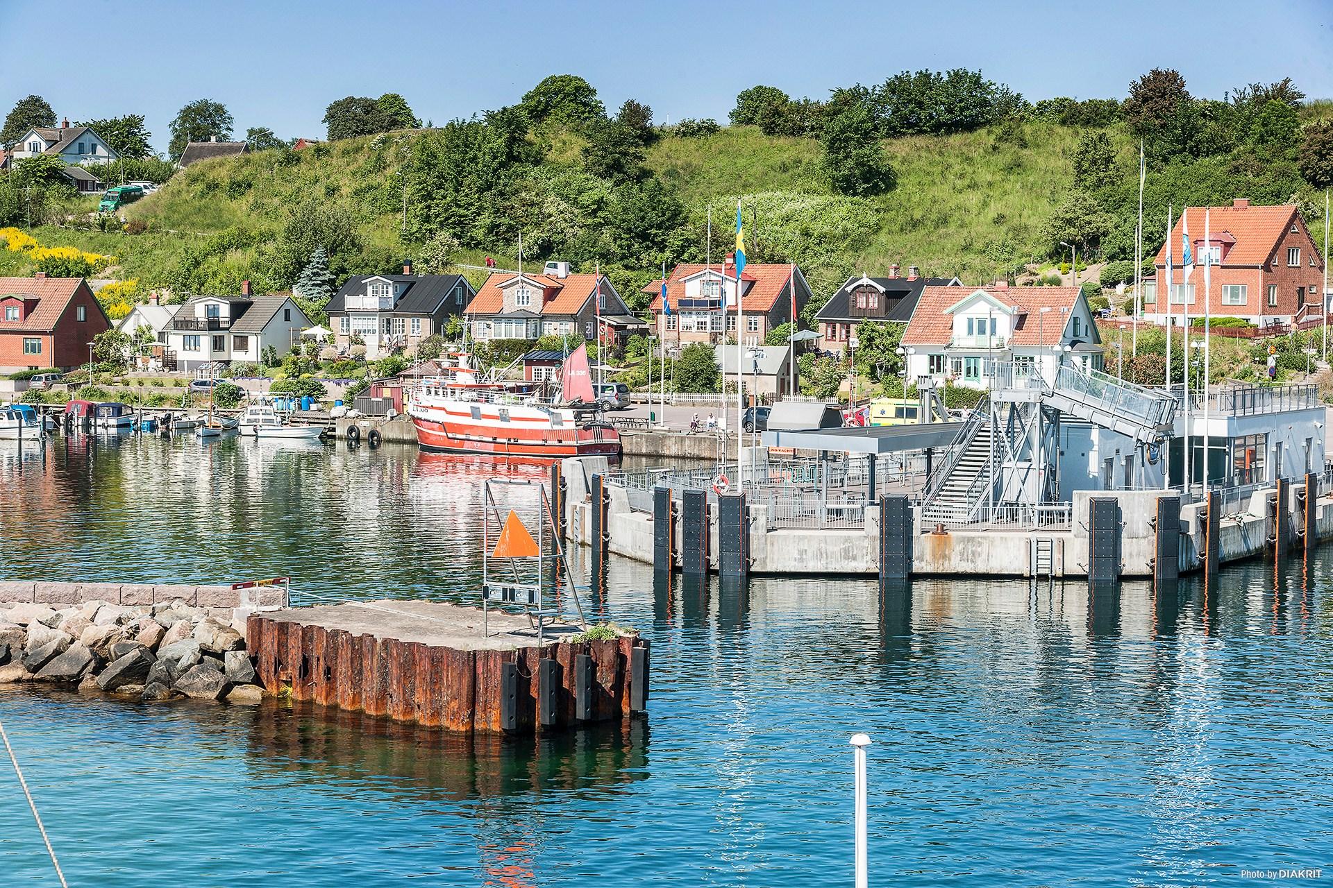 Bäckvikens välkomnande hamn