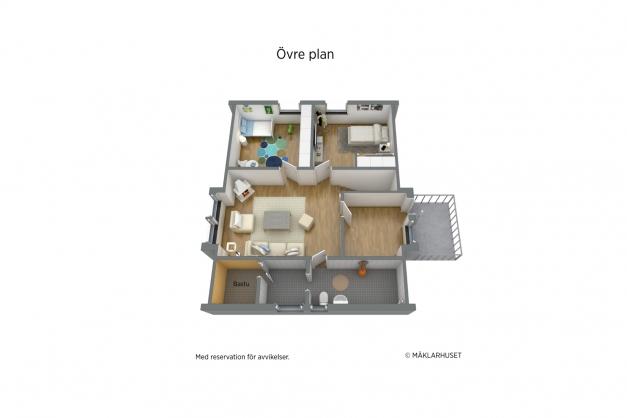 Övre plan 3D