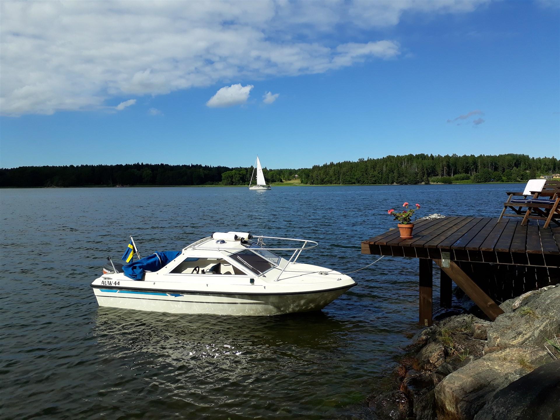 Båtplats i Norrtäljeviken