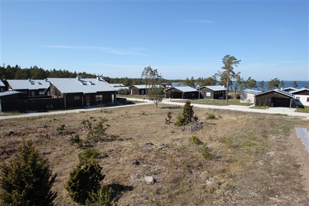Villaområde i Fårösund