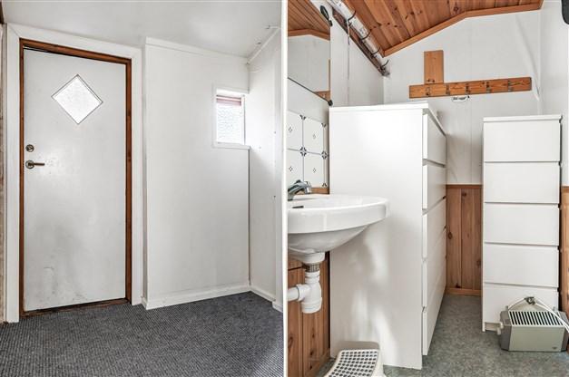 Hall/tvättrum