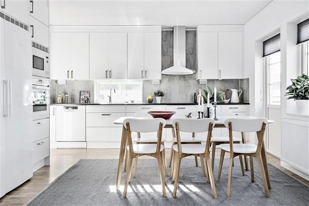 Exempelbild från visningshuset av villa Kalmar