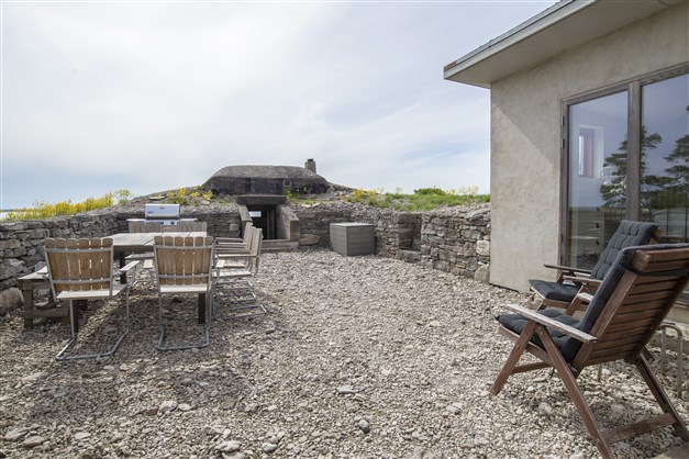 Innergård med eget skyttevärn