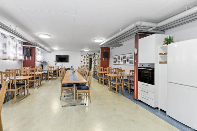 Föreningens samlingslokal..