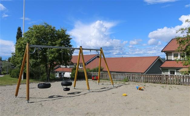Föreningen har en fin lekplats i området