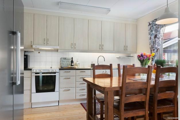 Köket har nya köksluckor