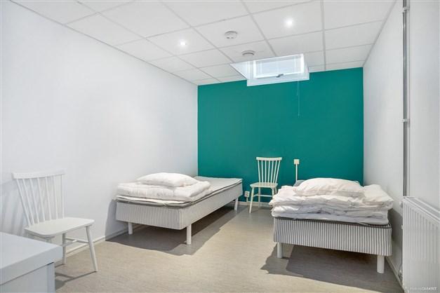 Övernattningsrum som kan hyras av medlemmar vid besök från familj och vänner.