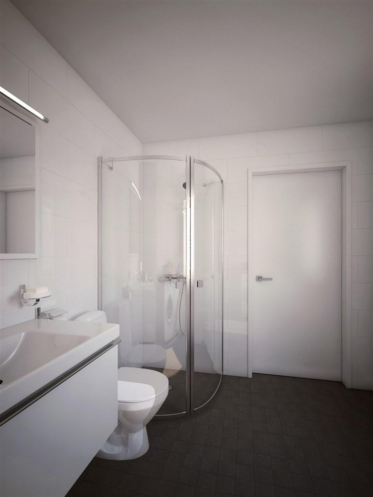 Mer av badrummet entréplan