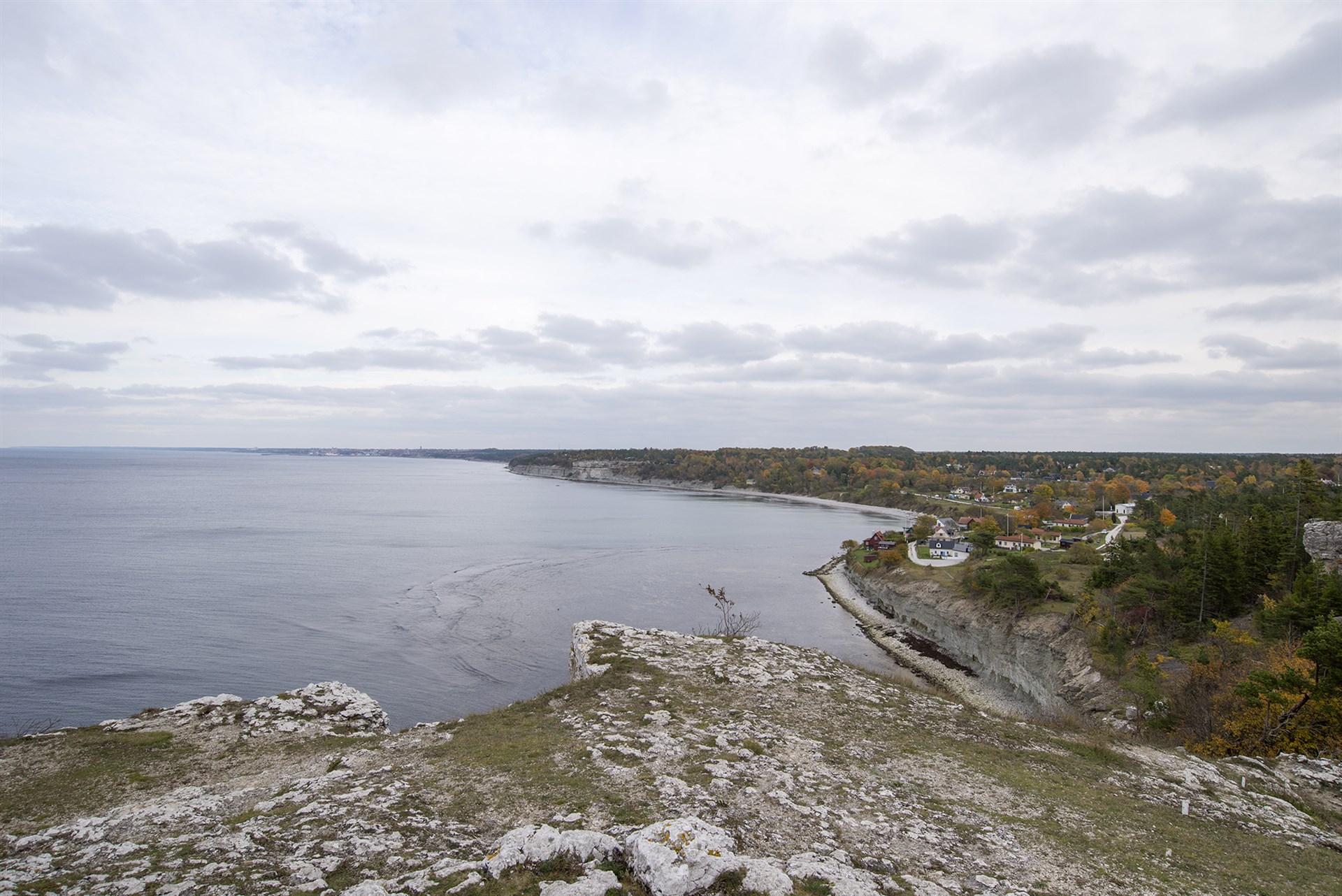 Utsikt över Högklint