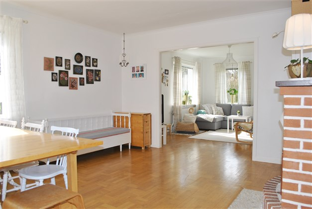 Matrum och vardagsrum i fil
