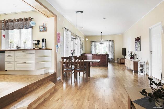 Vardagsrum och kök