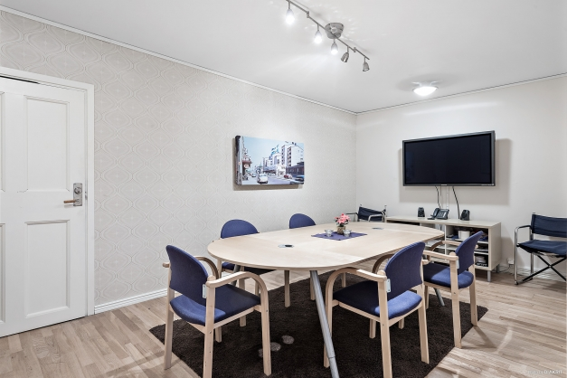 Konferensrum i tillbyggnad