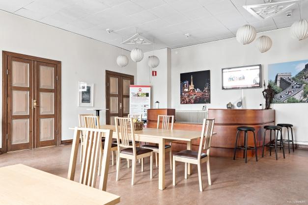 Reception/matplats eller 6-8 arbetsplatser