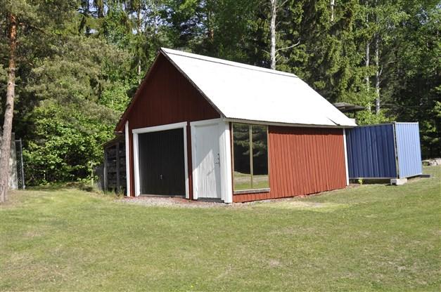 Enkel förrådsbyggnad/garage