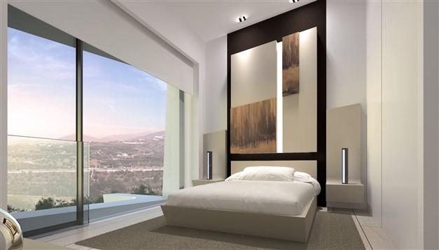 Sovrum - arkitektens 3D-bild