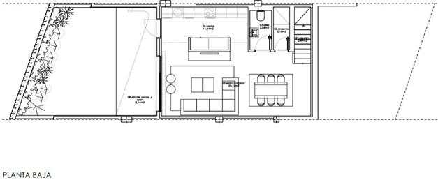 Bottenvåning hus 15 och 17.