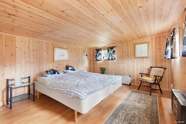 Sovrum i gäststugan