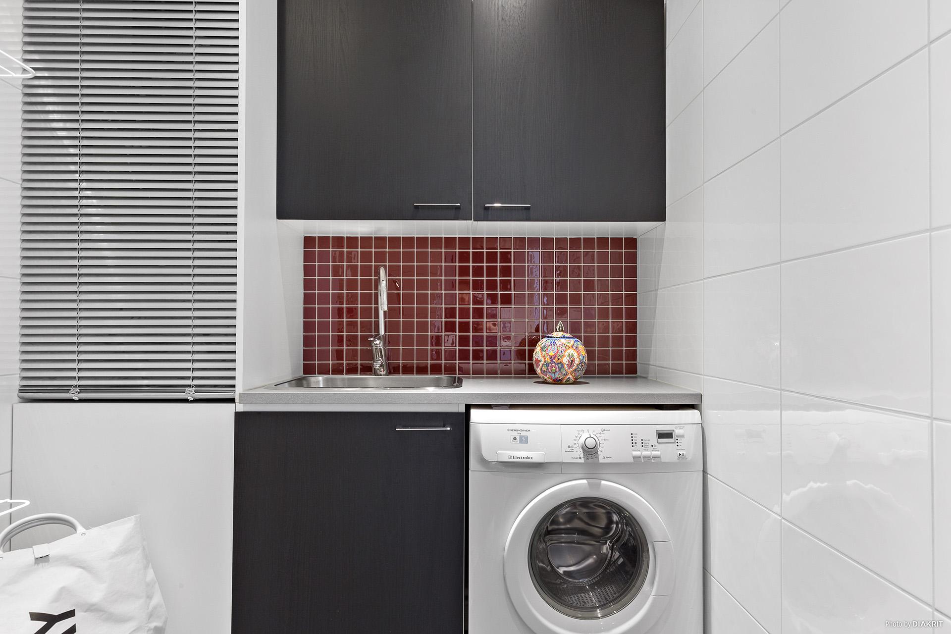 Fräsch tvättstuga