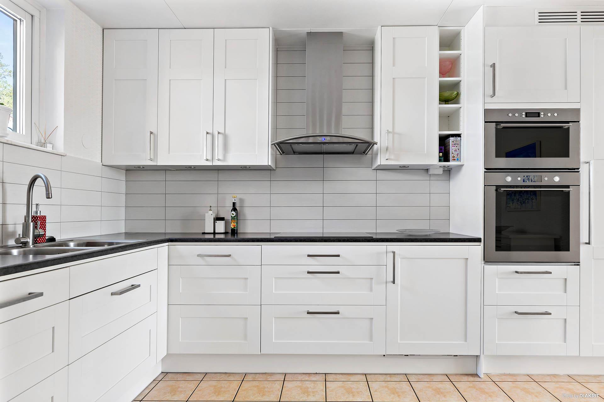Snyggt renoverat kök