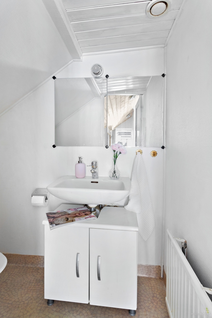 Toalett uppe