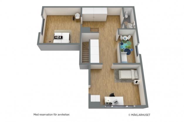 Planlösning plan 2 3 D