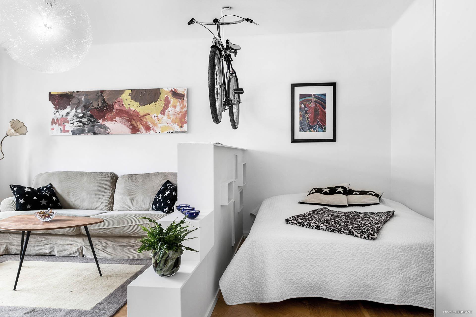 Plats för säng (160 cm)