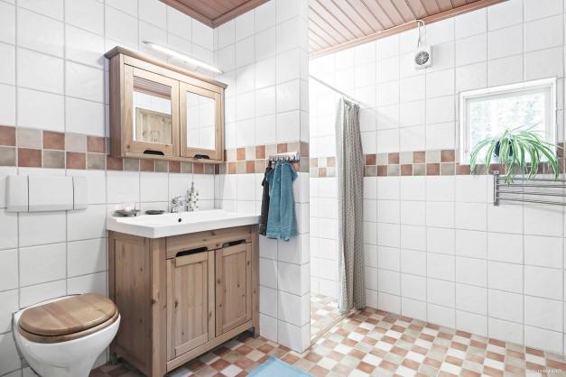 Stilfullt badrum