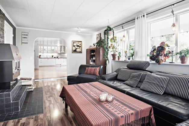 Stilenligt vardagsrum