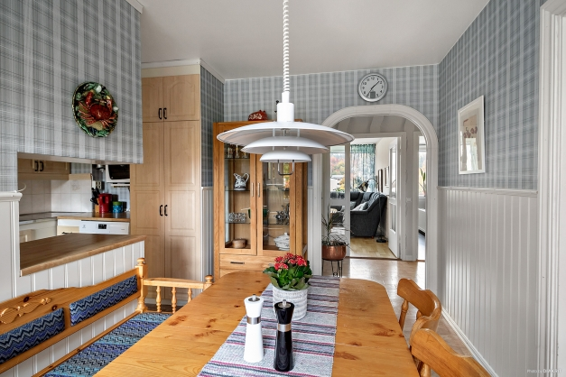 Matsplats i köket