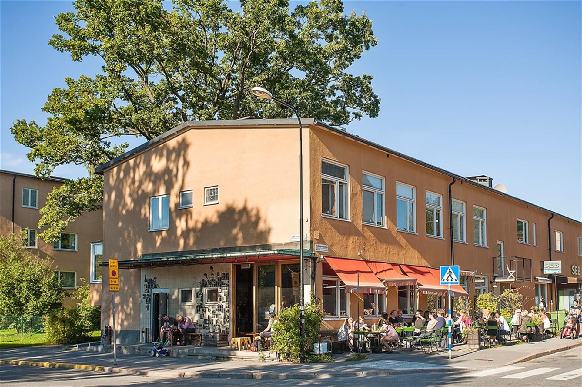 Club & Restaurang Landet vid Telefonplan
