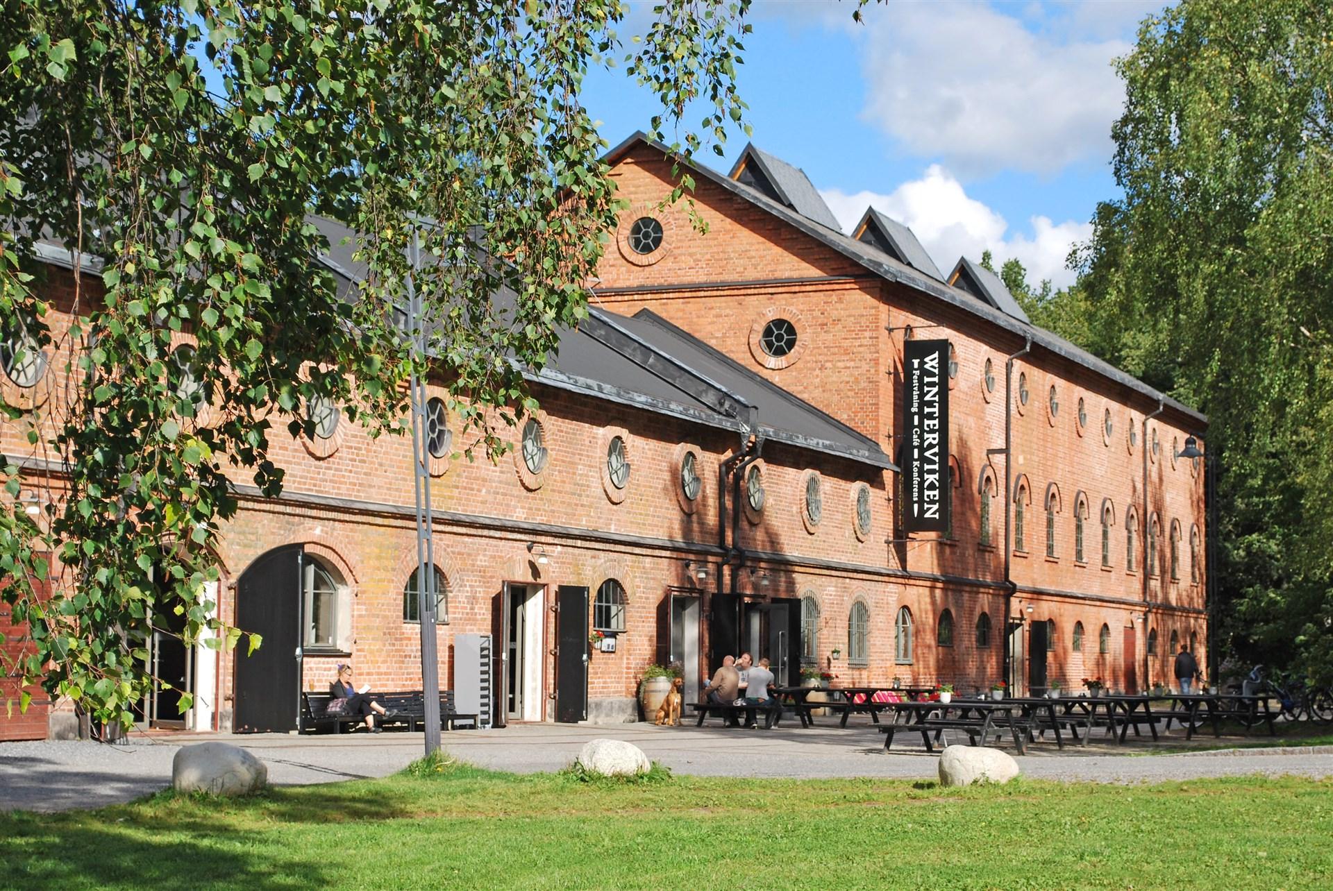 Restaurang Winterviken som drivs av Markus Aujalay
