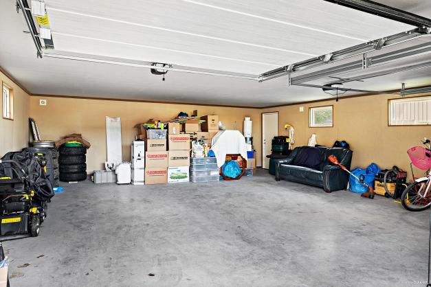 Interiör garage.